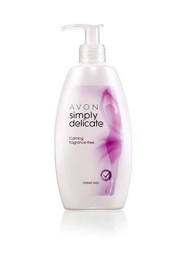 Avon Simply Delicate Hijyenik Bölge Temizleyici 300 Ml Renkli